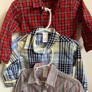 Janie and Jack boy shirts bundle deal